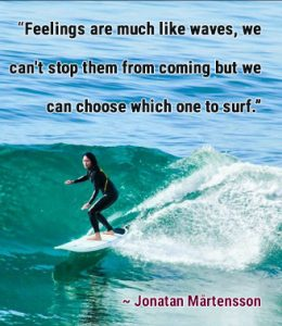 Surfing safe your feelings